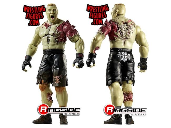 La riproduzione di Brock Lesnar zombie