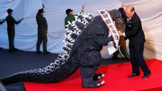 Godzilla riceve la cittadinanza giapponese