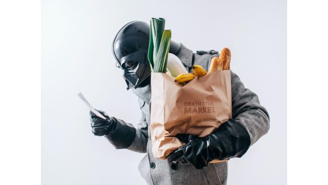 Darth Vader va a fare la spesa