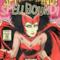 Siouxie come se fosse un supereroe Marvel