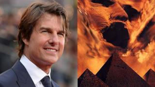 Tom Cruise protagonista del film La Mummia
