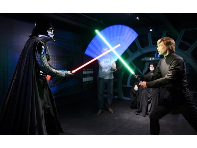 Madame Tussauds fa scontrare Dart Fener e Luke Skywalker