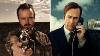 A sinistra Jesse Pinkman, a destra Saul Goodman