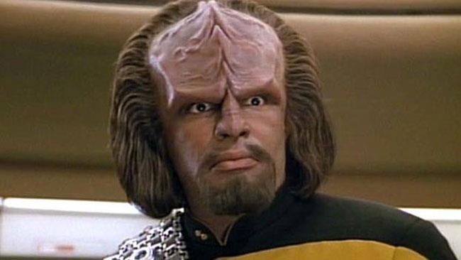 Una scena tratta da Star Trek