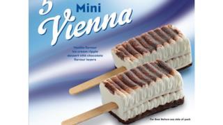 La Mini-Vienna a gusto fragola