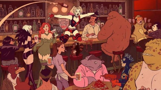 La prima immagine ufficiale della nuova serie di Harley Quinn