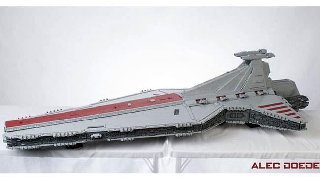 Star Wars: l'incrociatore pesante è completamente in LEGO