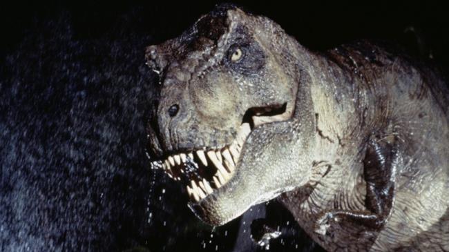 Il celebre tirannosauro simbolo di Jurassic Park