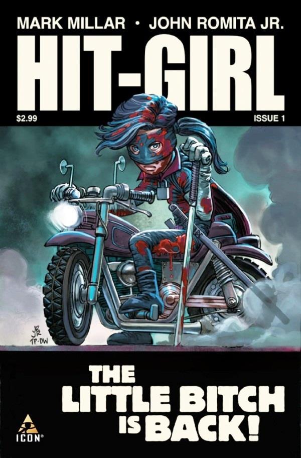 Hit-Girl è stata anche protagonista di un fumetto tutto suo