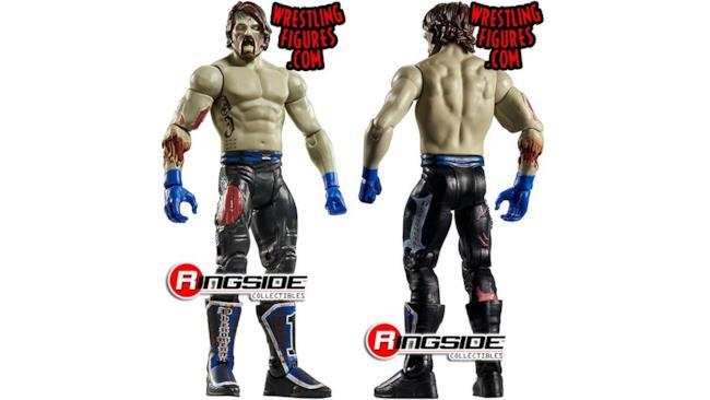 La riproduzione di AJ Styles zombie
