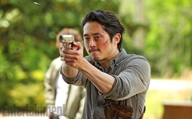 Glenn nella sesta stagione di The Walking Dead