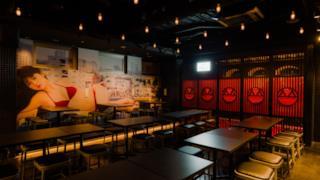 Ecco l'interno del locale giapponese a tema Playboy