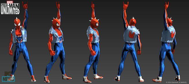 Spider-Man in versione punk