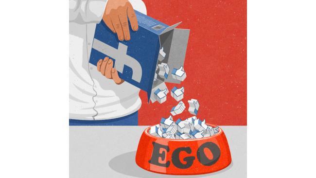 Illustrazione satirica di John Holcroft su Facebook
