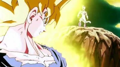 Goku in forma di Super Saiyan