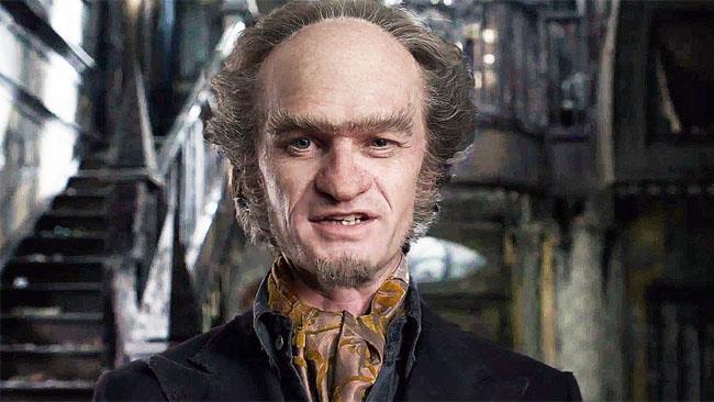 La foto del terribile conte Olaf