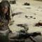 Michonne in un banner promozionale di The Walking Dead