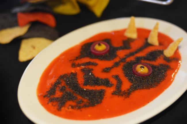 Darth Maul ritratto in una zuppa