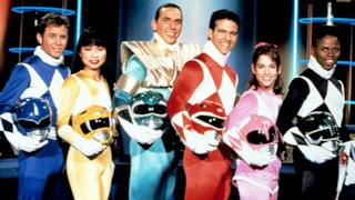I Power Rangers nella serie originale