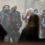 Una scena di Suicide Squad durante le riprese