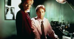 Mulder e Scully in una scena di X-Files