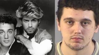 George Michael e l'uomo accusato