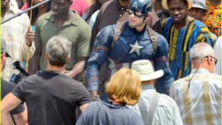 Prime immagini di Capitan America: Civil War