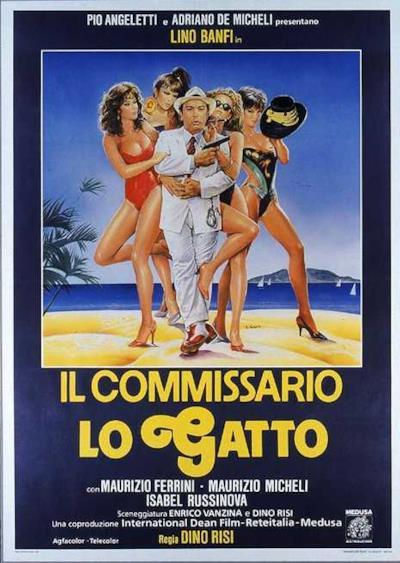 La locandina de Il commissario Lo Gatto