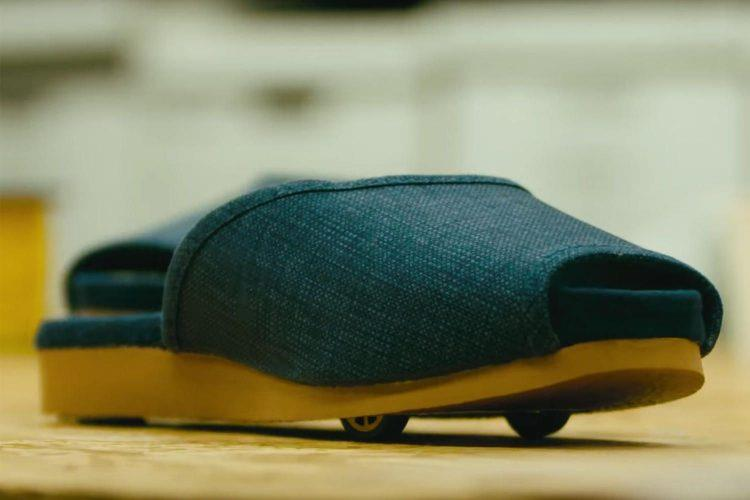 Le pantofole col pilota automatico di Nissan