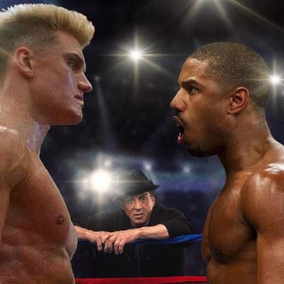L'immagine di un possibile match tra Adonis Creed e Ivan Drago