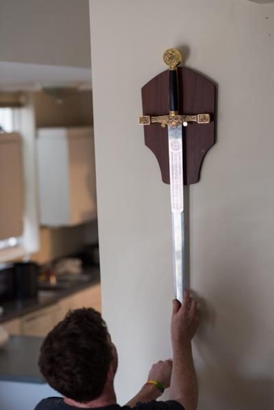 La spada medievale di Mac Dolan