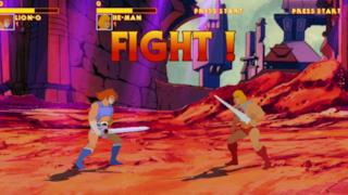 screenshot del gioco arcade di He-Man
