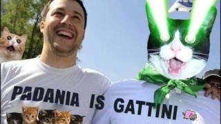 I Gattini, nuovo volto della Padania