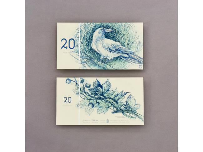 20 euro corvo e platano