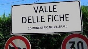Uno scorcio di Valle delle Fiche, in provincia di Livorno