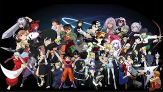 Alcuni personaggi degli anime