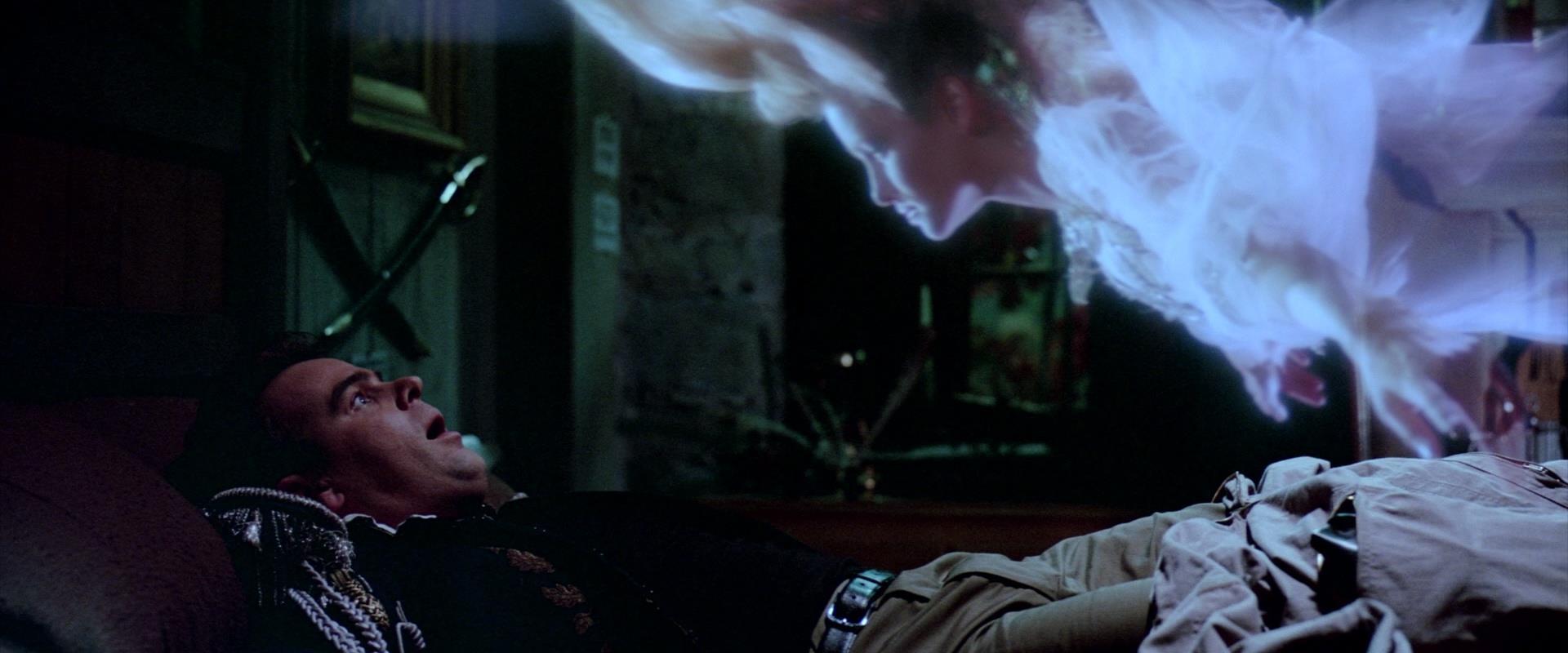 Una scena del film Ghostbuster