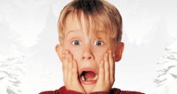 Macaulay Culkin in una scena di Mamma, ho perso l'aereo