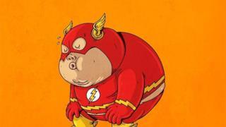 Flash in versione obesa