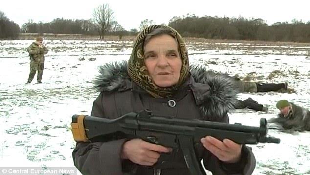 Ekaterina Bilyik nell'esercito ucraino