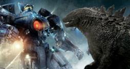 I jaeger si scontrano contro Godzilla