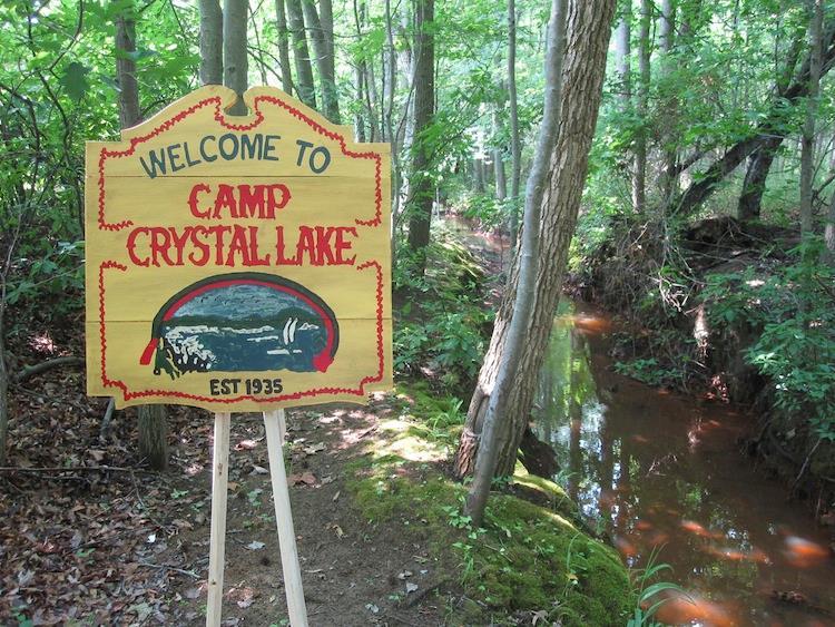 Il Camp Crystal Lake, set del film Venerdì 13