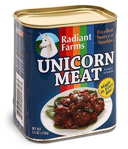 La carne di unicorno in scatola - Regali divertenti sotto i 100 euro