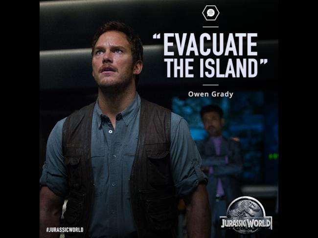 Owen Grady Jurassic World poster