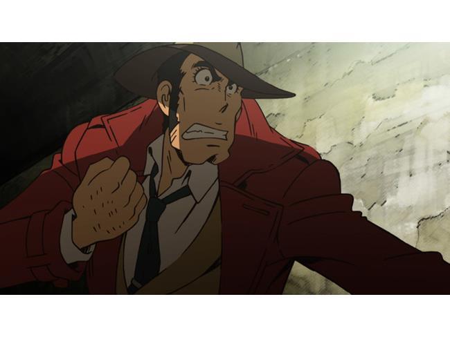 L'ispettore Zenigata nell'avventura italiana di Lupin