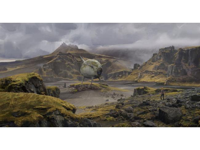 Fanart del pianeta Namek di Deng Jing