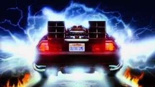L'automobile utilizzata per il viaggio nel tempo all'interno della trilogia