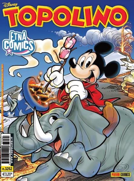 La foto della copertina di Topolino n.3262