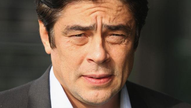 L'attore Benicio del Toro
