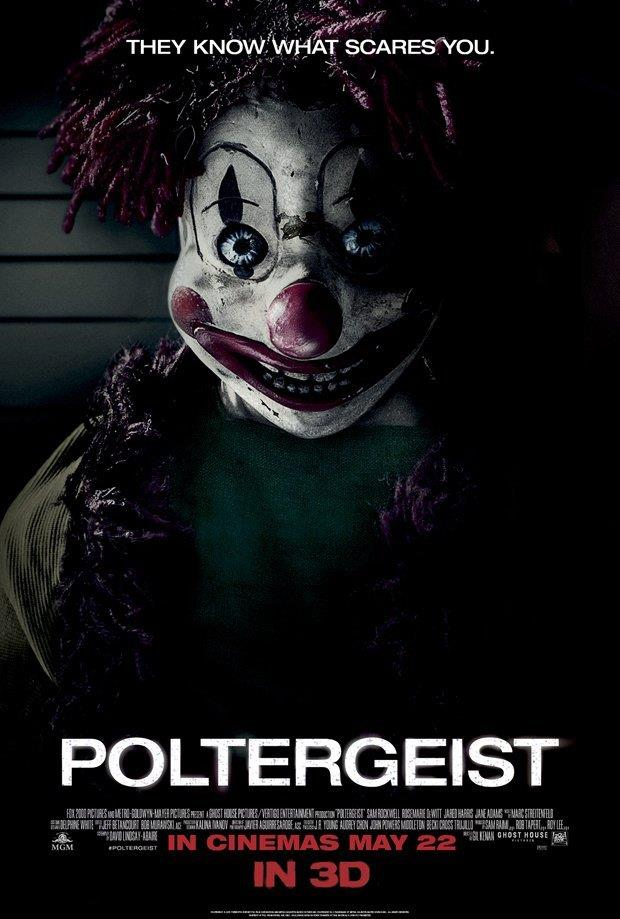 poster del film Poltergeist